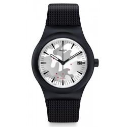 Купить Swatch Мужские Часы Sistem51 Sistem Kamu SUTB407 Автоматический