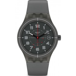 Купить Swatch Унисекс Часы Sistem51 Sistem Ash SUTM401 Автоматический