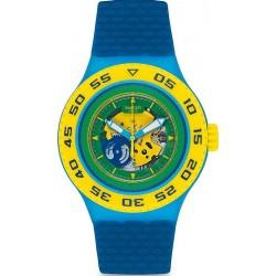 Swatch Унисекс Часы Scuba Libre Infrario SUUS102