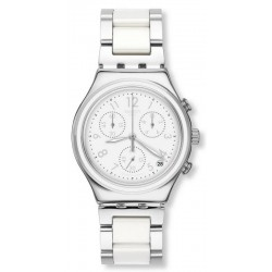 Купить Swatch Женские Часы Irony Chrono Snow Dream YCS603G Хронограф