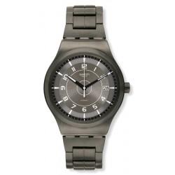 Купить Swatch Мужские Часы Irony Sistem51 Sistem Brushed YIM400G Автоматический