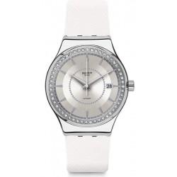 Купить Swatch Женские Часы Irony Sistem51 Sistem Snow YIS406 Автоматический