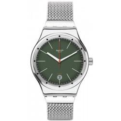 Купить Swatch Унисекс Часы Irony Sistem51 Sistem Kaki YIS407G Автоматический