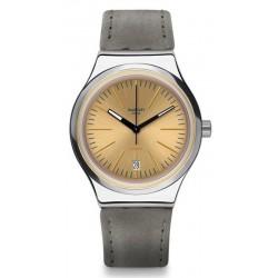 Купить Swatch Унисекс Часы Irony Sistem51 Sistem Sand YIS411 Автоматический