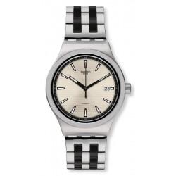 Купить Swatch Мужские Часы Irony Sistem51 Sistem Silverline YIS424G Автоматический