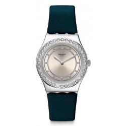 Swatch Женские Часы Irony Medium Bluechic YLS211
