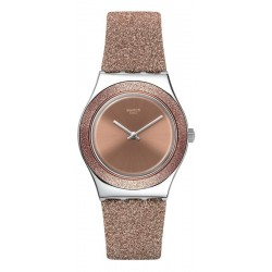 Swatch Женские Часы Irony Medium Rose Sparkle YLS220
