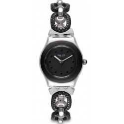 Купить Swatch Женские Часы Irony Lady Black Glitter YSS293G