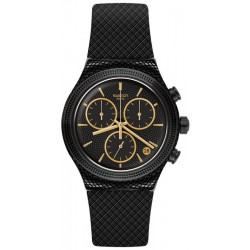 Swatch Унисекс Часы Irony Chrono Crazy For Precious YVB408 Хронограф