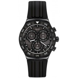 Swatch Мужские Часы Irony Chrono Teckno Black YVB409 Хронограф