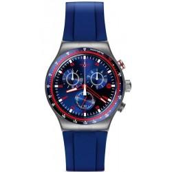 Swatch Мужские Часы Irony Chrono Hookup YVS417 Хронограф