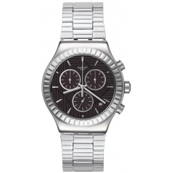 Swatch Мужские Часы Irony Chrono Joe's Smile YVS471G Хронограф