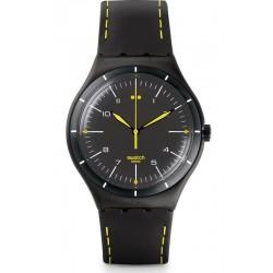 Купить Swatch Мужские Часы Irony Big Classic Black Bliss YWB100
