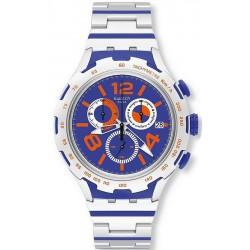 Swatch Мужские Часы Irony Xlite Chemical Blue YYS4011AG Хронограф