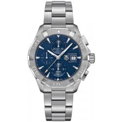 Купить Tag Heuer Aquaracer Мужские Часы CAY2112.BA0927 Автоматический Хронограф