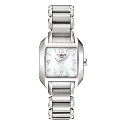 Tissot Женские Часы T-Lady T-Wave T02128582 Перламутр Quartz