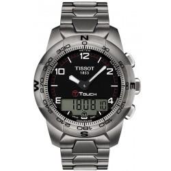Tissot Мужские Часы T-Touch II Titanium T0474204405700