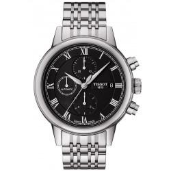 Купить Tissot Мужские Часы Carson Automatic Chronograph T0854271105300