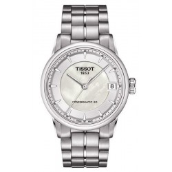 Tissot Женские Часы Luxury Powermatic 80 T0862071111100 Перламутр