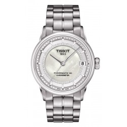 Tissot Женские Часы Luxury Powermatic 80 COSC T0862081111600 Бриллианты