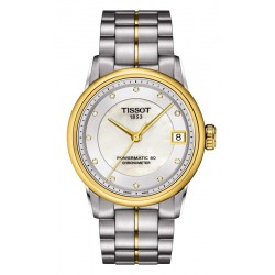 Tissot Женские Часы Luxury Powermatic 80 COSC T0862082211600 Бриллианты