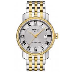 Купить Tissot Мужские Часы Bridgeport Powermatic 80 T0974072203300
