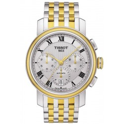 Купить Tissot Мужские Часы Bridgeport Automatic Chronograph Valjoux T0974272203300