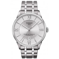 Купить Tissot Мужские Часы Chemin Des Tourelles Powermatic 80 T0994071103800