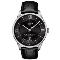 Купить Tissot Мужские Часы Chemin Des Tourelles Powermatic 80 T0994071605800