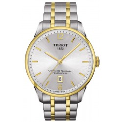 Купить Tissot Мужские Часы Chemin Des Tourelles Powermatic 80 T0994072203700