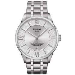 Купить Tissot Мужские Часы Chemin Des Tourelles Powermatic 80 COSC T0994081103800