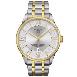 Купить Tissot Мужские Часы Chemin Des Tourelles Powermatic 80 COSC T0994082203800