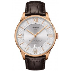 Купить Tissot Мужские Часы Chemin Des Tourelles Powermatic 80 COSC T0994083603800
