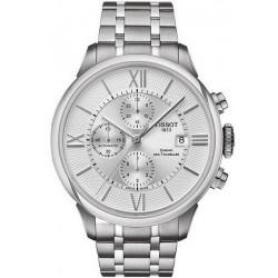Купить Tissot Мужские Часы Chemin Des Tourelles Automatic Chronograph T0994271103800