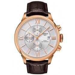 Купить Tissot Мужские Часы Chemin Des Tourelles Automatic Chronograph T0994273603800