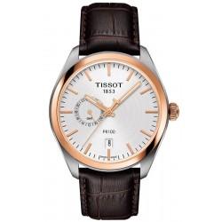 Tissot Мужские Часы T-Classic PR 100 Dual Time T1014522603100